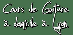 Cours de guitare à domicile sur Lyon Logo